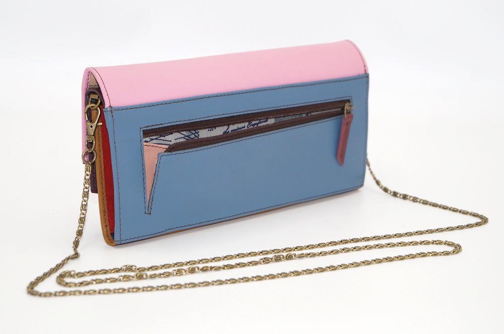 Grand portefeuille cuir / Compagnon / Pochette unique femme #6