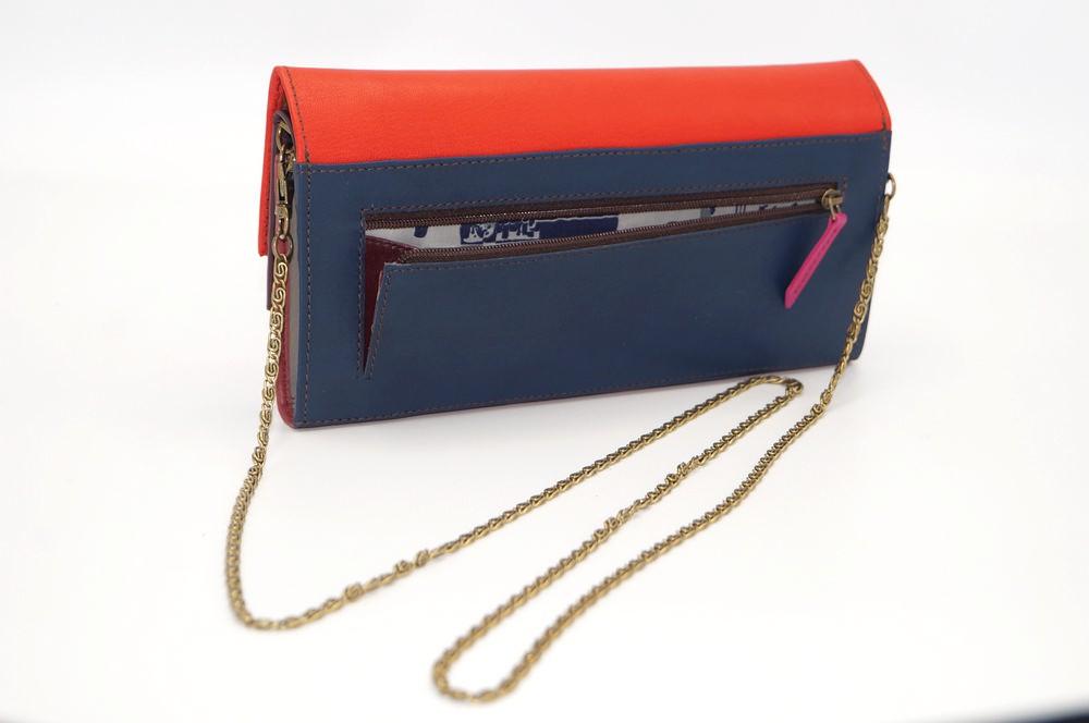 Grand portefeuille cuir / Compagnon / Pochette unique femme #7