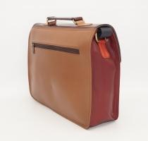 Grand sac forme cartable en cuir #14