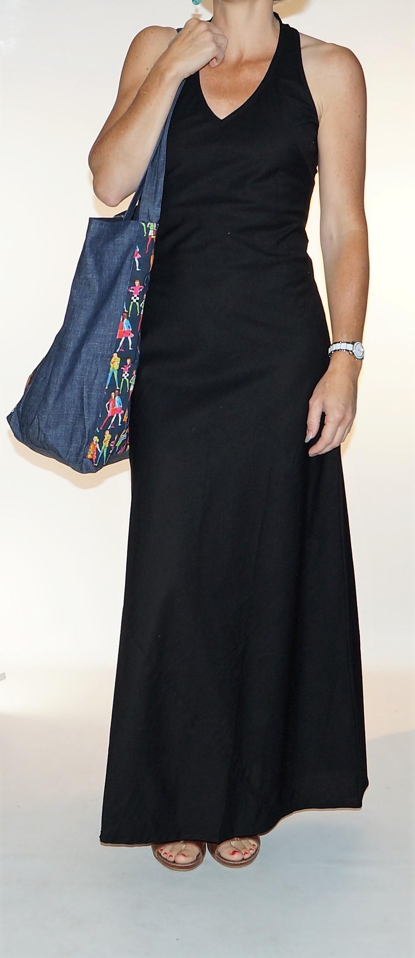 Grand sac shopping Imprimé Femmes Bla-Bla