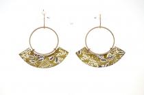 Great original earring La Belle Camille Carmen Bronze