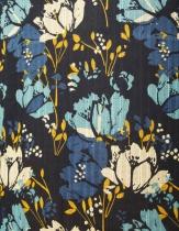 Haut fleuri La Fiancée du Mékong, Namcha arty black