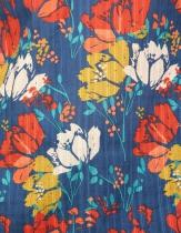 Haut fleuri La Fiancée du Mékong, Namcha arty encre