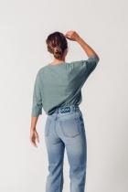 Jean coton bio Femme Bleu clair Maya UCM