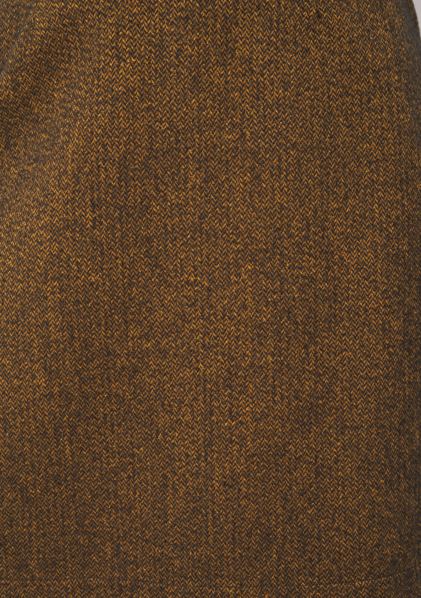 Jupe droite ocre Made in Sens