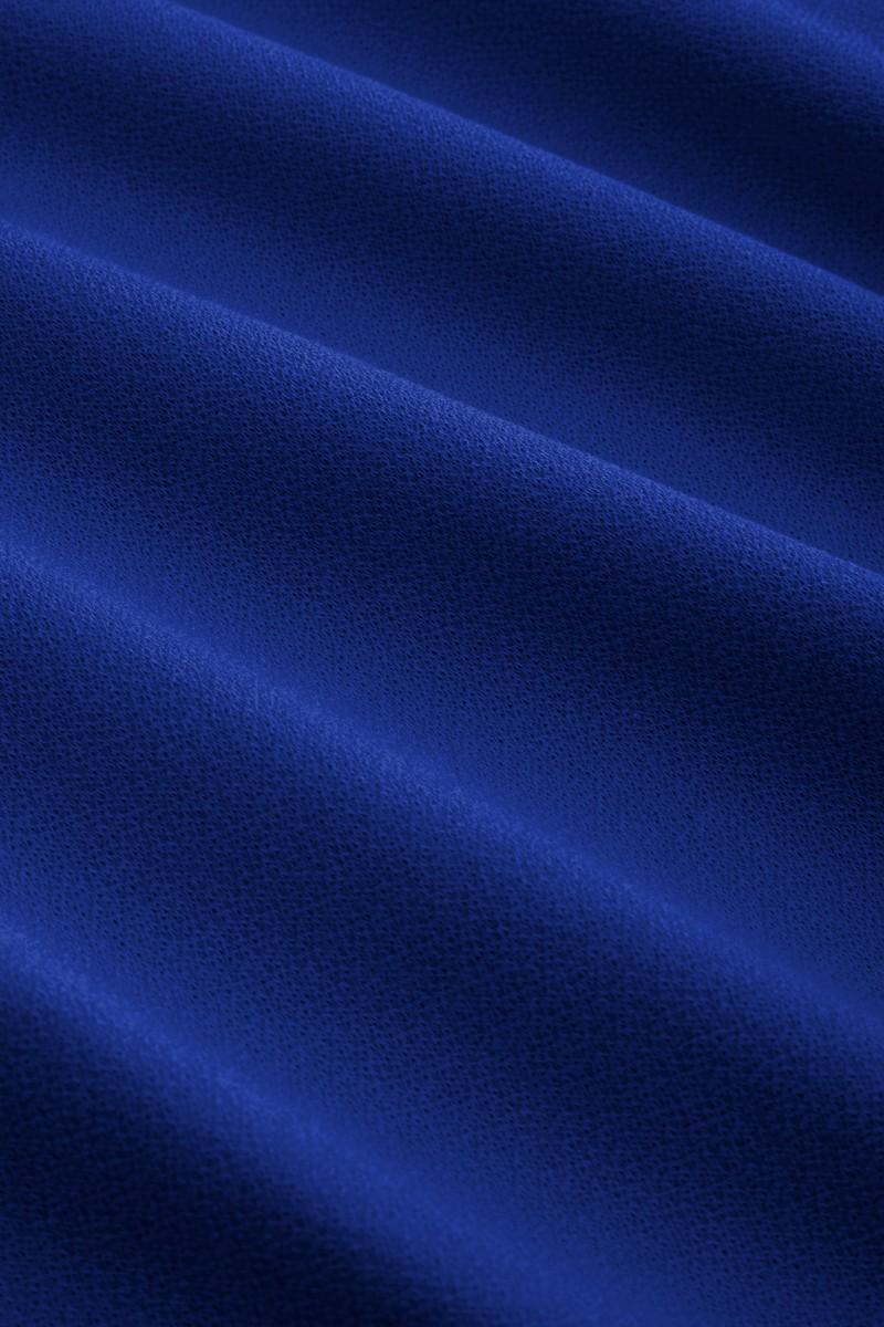 Jupe évasée King Louie, Sofia Milano crepe bleue