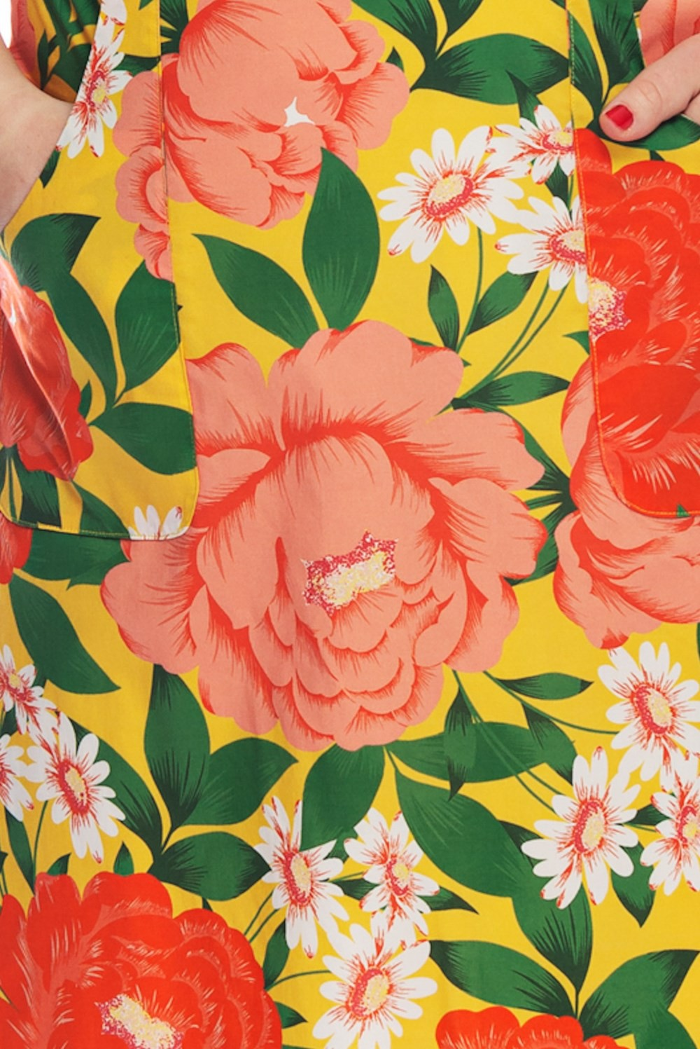 Jupe fleurie Cissi Och Selma, Sonja grosses fleurs