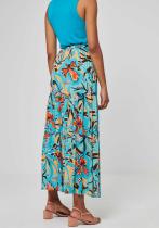 Jupe longue turquoise Surkana