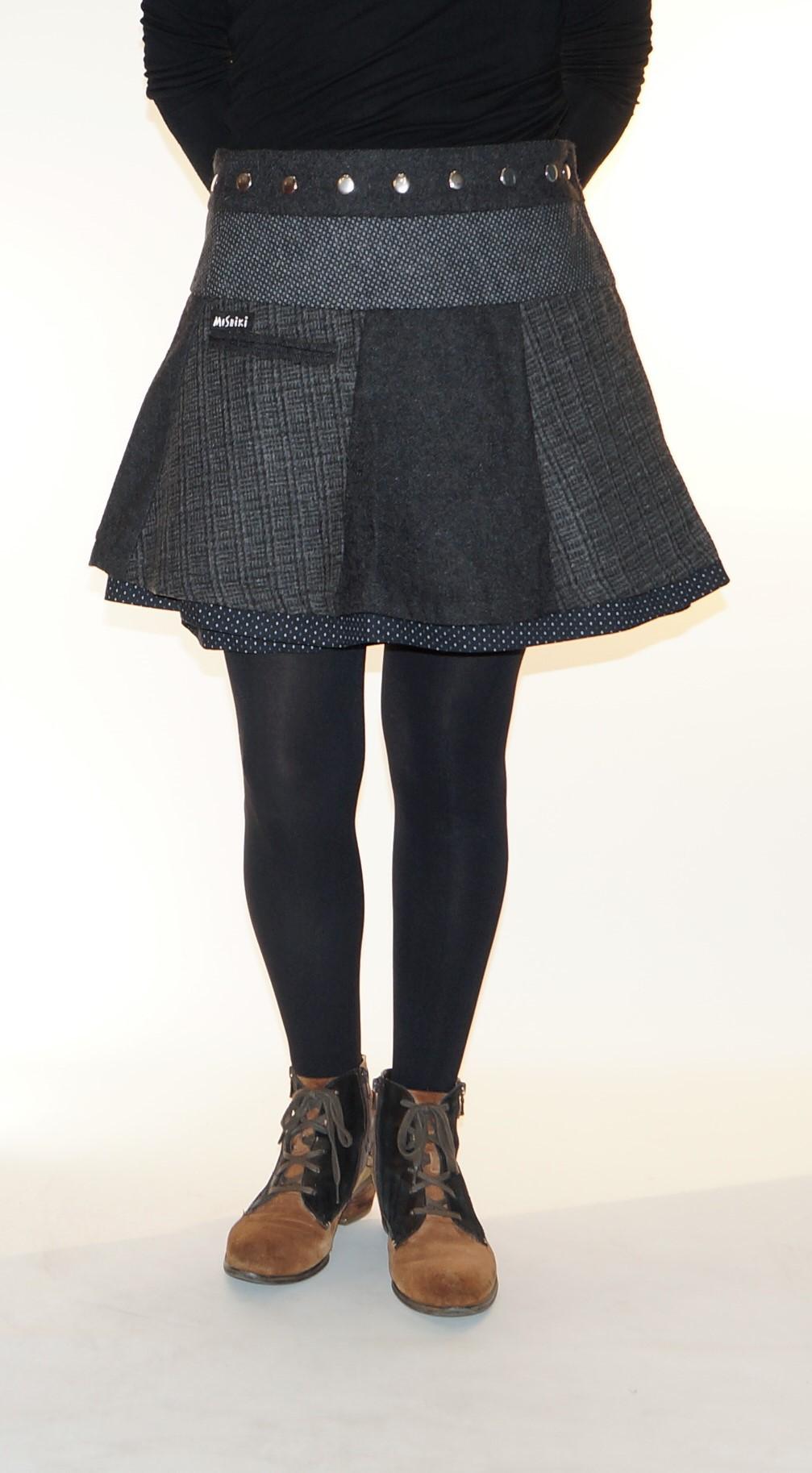 Jupe Moshiki Souffle Short 40 cm B