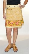 Jupe réglable et réversible Cotton 4 Long F Moshiki