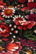 Jupe trapèze fleurie King Louie, Border Rosegarden