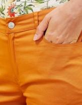 La Fiancée du Mékong tobacco color shorts, Lumko