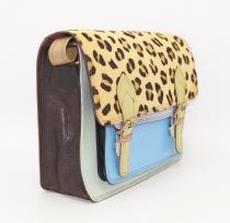 Leather briefcase / satchel, women\'s document holder  #13