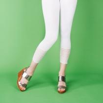 Legging 3/4 dentelle taille unique Moshiki