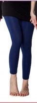 Legging bleu marine épais et confortable taille unique Moshiki