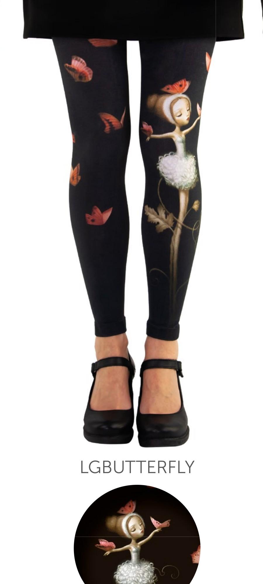 Legging fantaisie Butterfly Lili Gambettes