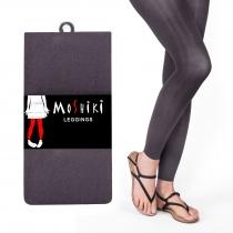 Legging gris clair taille unique et confortable Moshiki