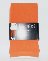 Legging Long uni Corail orangé Moshiki