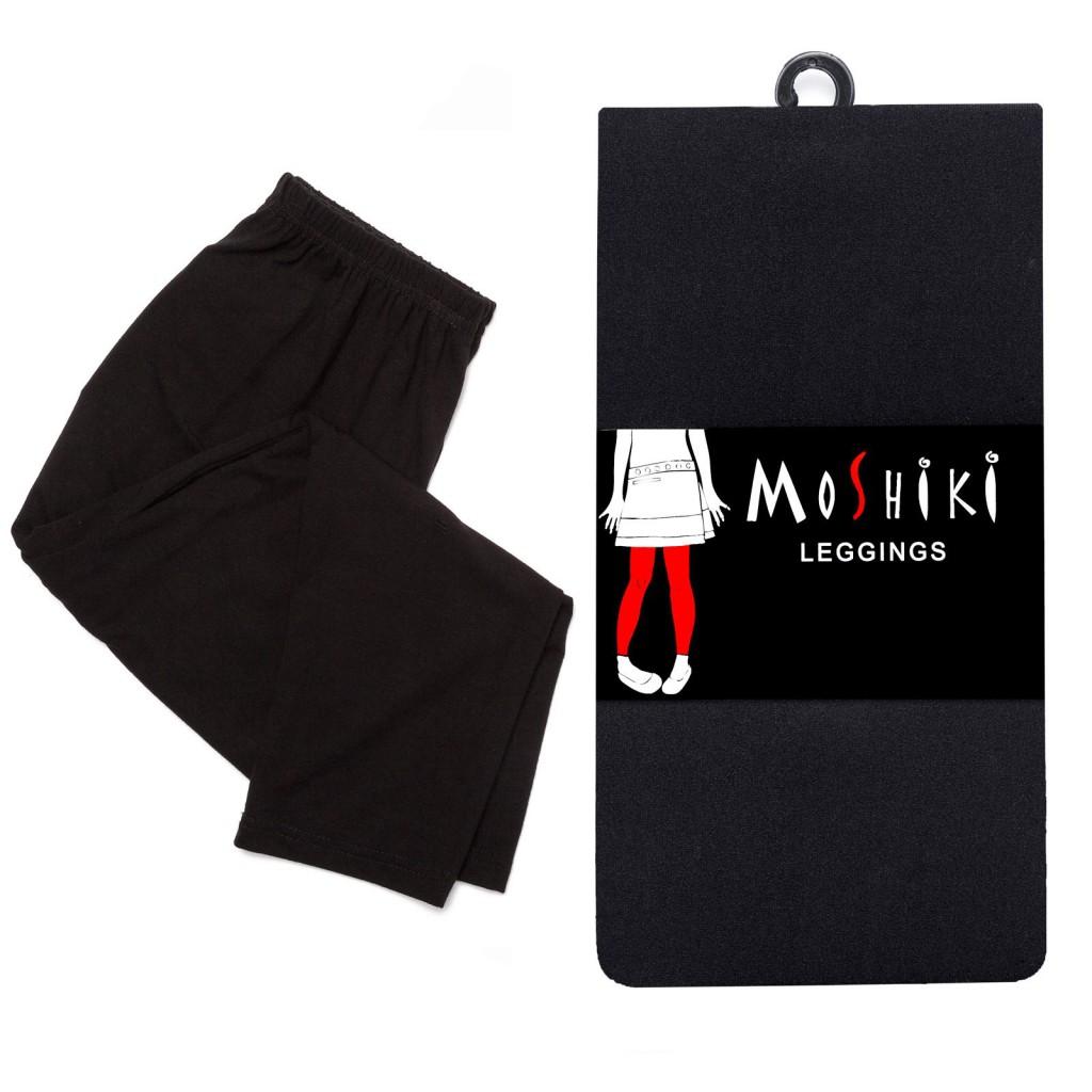 Legging Long uni noir Moshiki