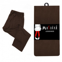 Legging marron Moshiki taille unique