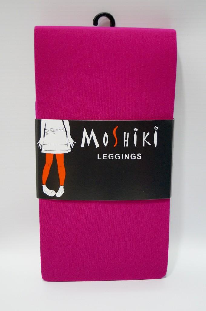 Legging pink solid Moshiki