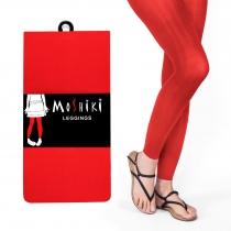 Legging rouge épais et taille unique Moshiki