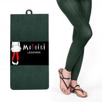 Legging vert foncé, épais, confortable et solide Moshiki