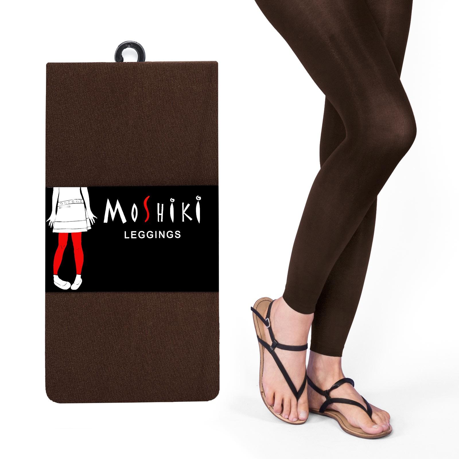 Leggings marron Moshiki taille unique