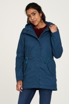 Manteau femme bleu Tranquillo