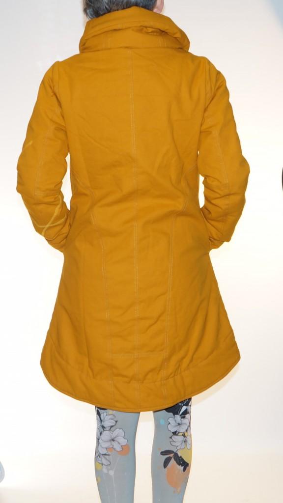 Manteau original moutarde Cosmos Kali Yog