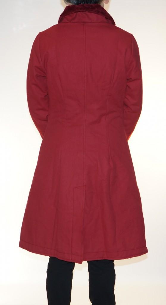 Manteau original rouge Crazyfrog Kali Yog