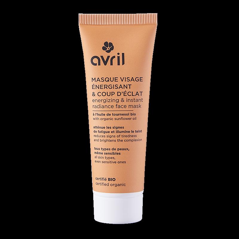 Masque visage énergisant & coup d\'éclat 50 ml  Avril cosmétique