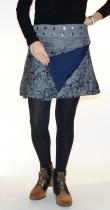 Mini jupe taille modulable Moshiki D