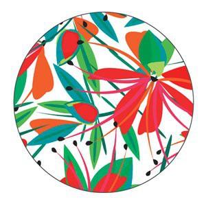 Motif / magnet à aimanter YAYA FACTORY 38mm Fleurs du paradis