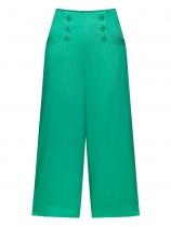 Pantalon à pont vert Mademiselle Yéyé, Marlena at the sea