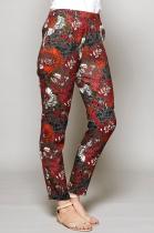 Pantalon droit fleuri Nomads
