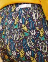 Pantalon droit imprimé La Fiancée du Mékong