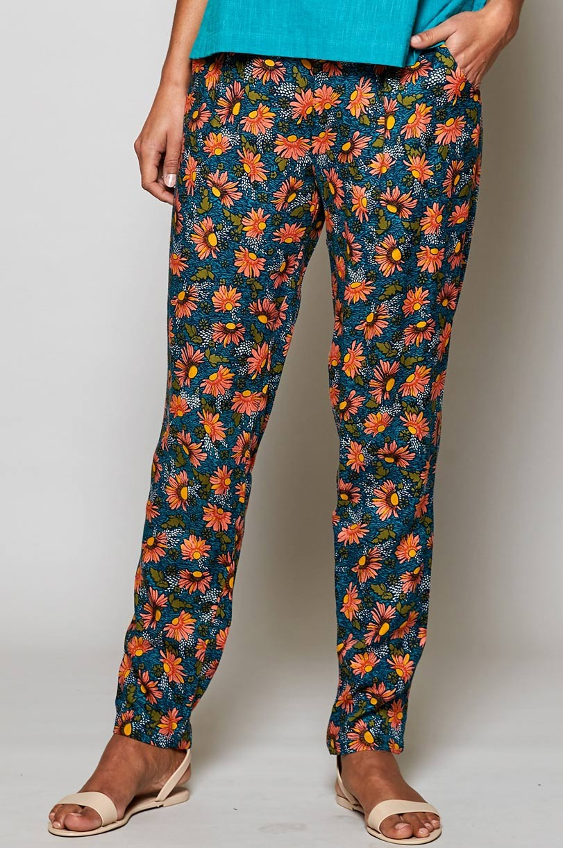 Pantalon fleuri éthique Nomads