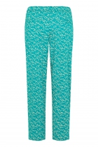 Pantalon fluide bleu Tranquillo Zwena