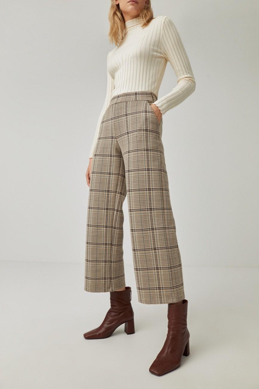 Pantalon jacquard Surkana