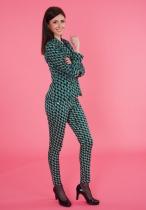 Pantalon slim imprimé Princesse Nomade, Fany 08