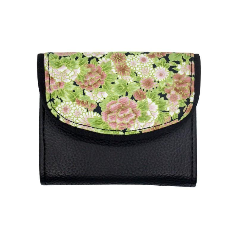 Petit portefeuille / porte monnaie imprimé multicolore Bibop & Lula