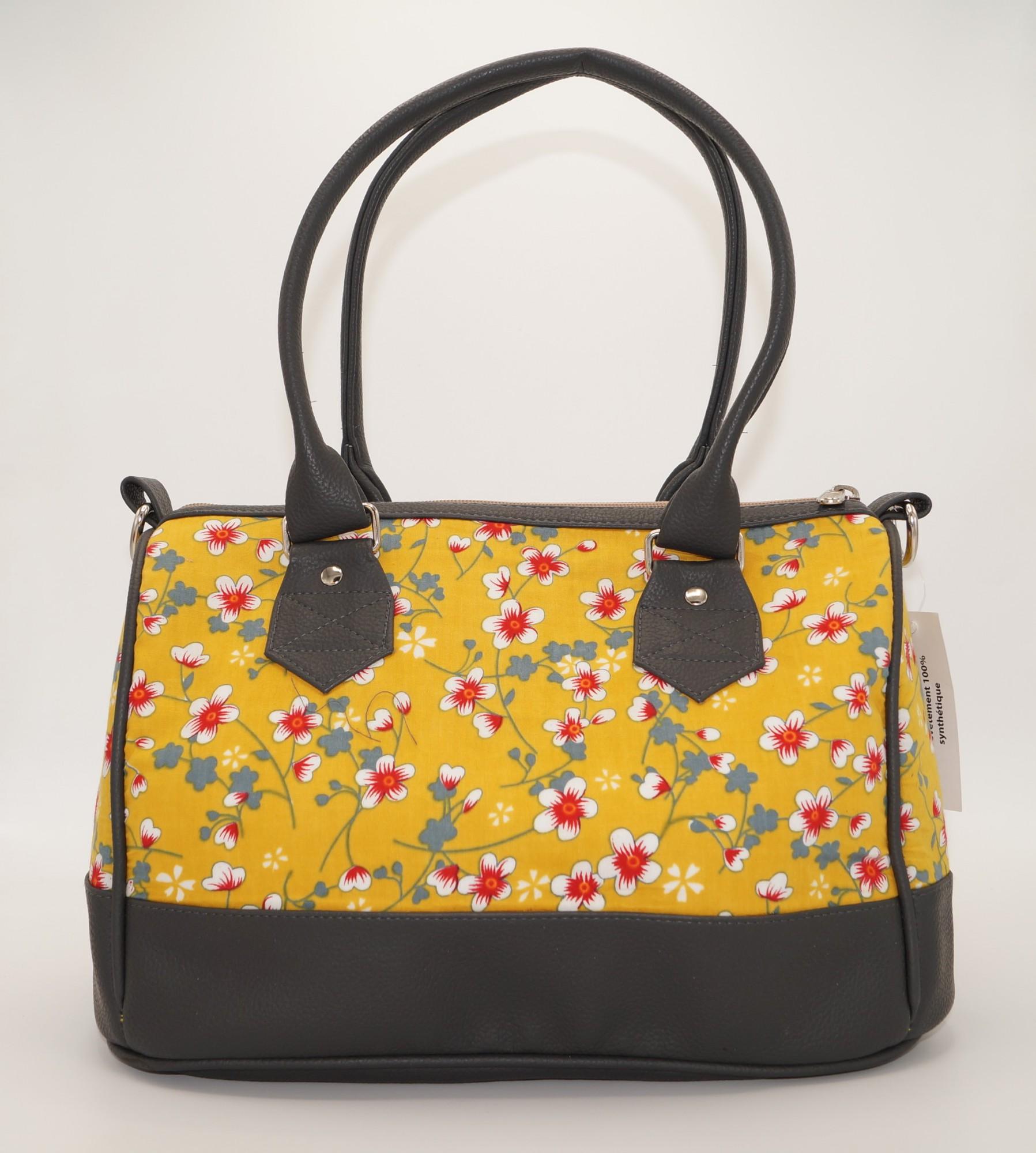 Petit sac Bowling imprimé multicolore Bibop & Lula