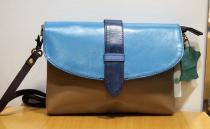 Petit sac en cuir recyclé Soruka