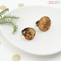 Petite bague réglable vintage et originale La Belle Camille