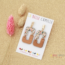 Pierced ears nail original Belle Camille Jade