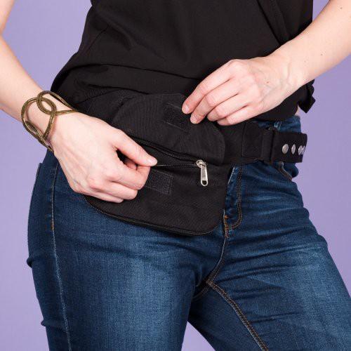 Pochette ceinture Pokhara noire