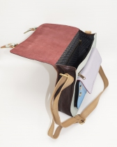Porte-document forme cartable en cuir #13