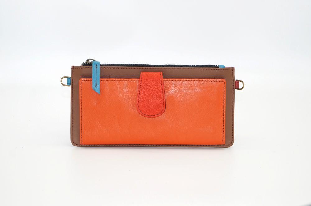 Portefeuille cuir / Compagnon modèle unique femme #1