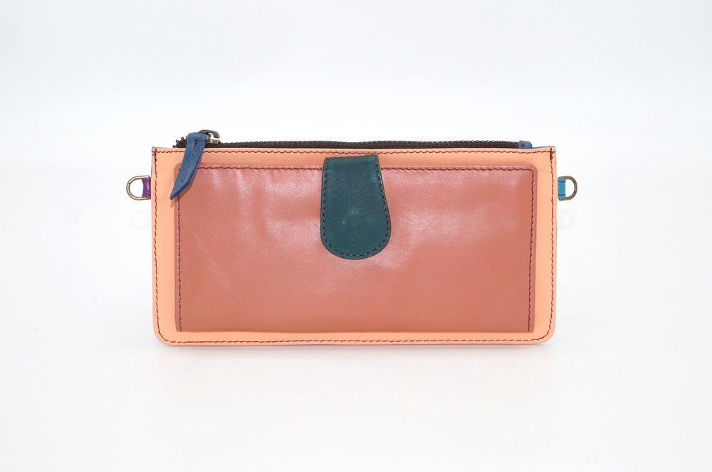 Portefeuille cuir / Compagnon modèle unique femme #15